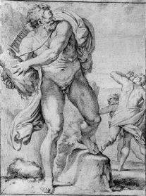''Polyphemus and Acis'' after Carracci