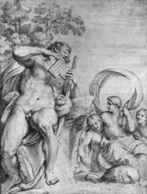 ''Polyphemus and Galatea'' after Carracci