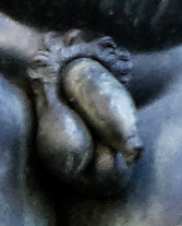 Perseus's penis by Cellini