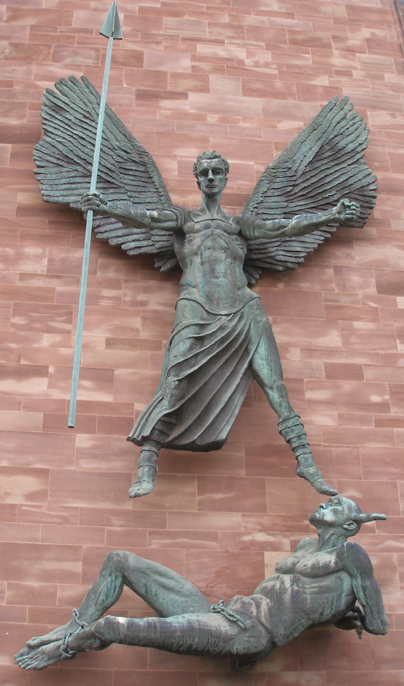 Victory over the Devil by Sir Jacob Epstein