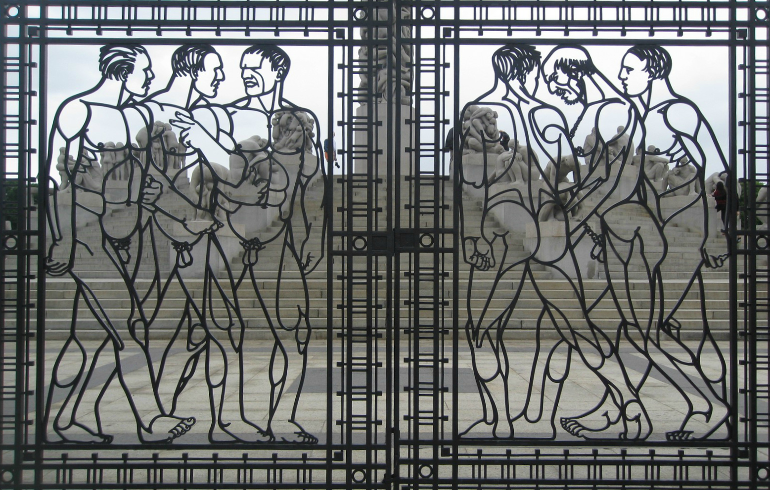 Gate to the Vigeland Installation