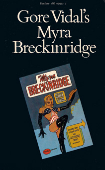 ''Myra Breckinridge'' bookcover