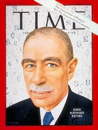 John Maynard Keynes - TIME cover