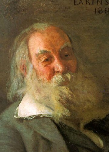 Walt Whitman (by Thomas Eakins)